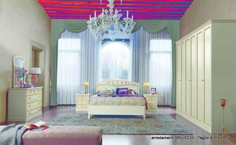 Camera classica aurora arredamenti bruschi for Bruschi arredamenti