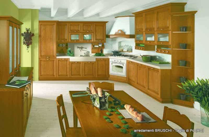 Cucina classica ares arredamenti bruschi for Bruschi arredamenti