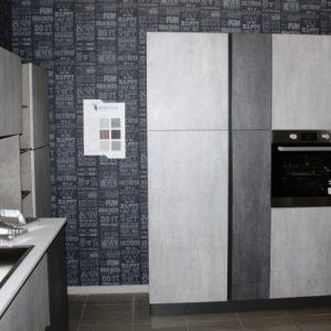 Cucina Classica Modello 850 ante calce e cemento 2