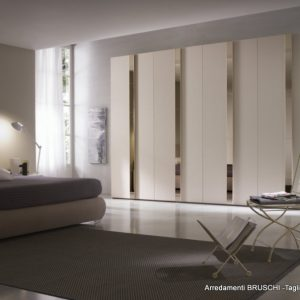 armadio moderno linear glass 1
