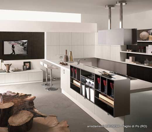 Cucina moderna carola arredamenti bruschi for Bruschi arredamenti