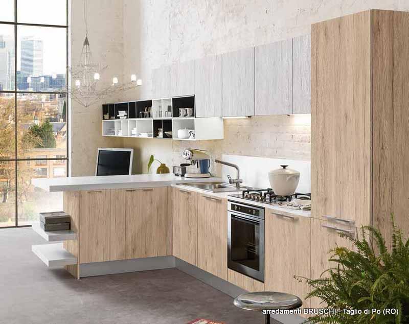 Cucina moderna gluen arredamenti bruschi for Bruschi arredamenti