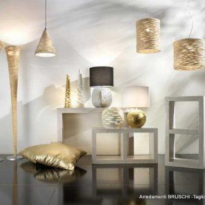 Lampade Midollino e Ceramica