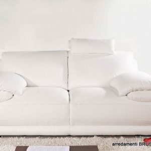 salotto moderno atlantic divano bianco